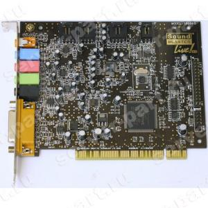 Звуковая карта Creative Live 5.1 EMU10K1 Analog&Digital In/Out 5.1 SPDIF PCI(SB0100)