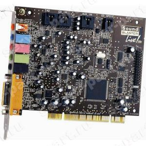 Звуковая карта Creative Live 5.1 EMU10K1 Analog&Digital In/Out 5.1 SPDIF PCI(SB0060)
