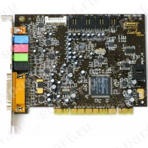 Звуковая карта Creative Live 5.1 Digital EMU10K1 Analog&Digital In/Out 5.1 PCI(SB0220)