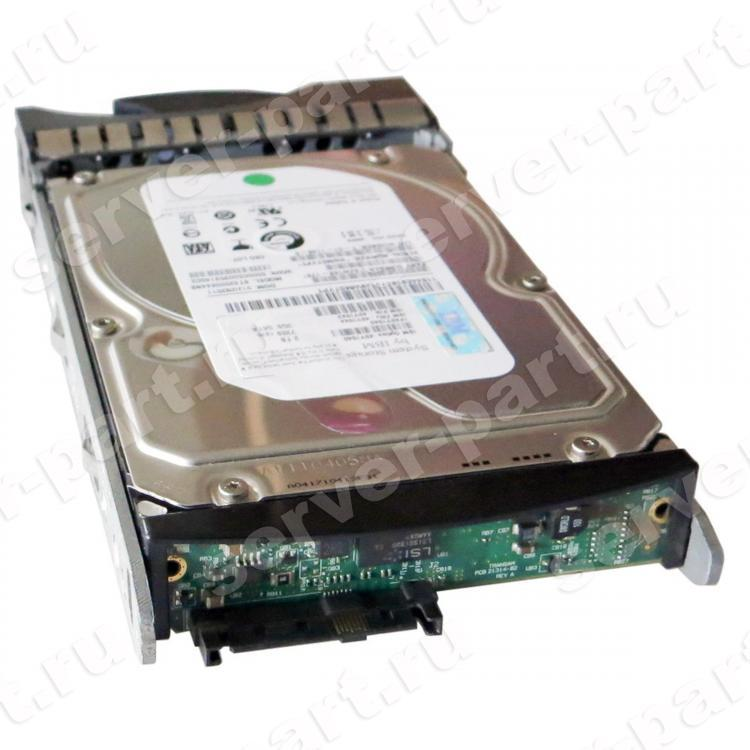 Жесткий Диск IBM System Storage (Hitachi) Ultrastar A7K1000 HUA721010KLA330 1Tb (U300/7200/32Mb) SATAII To SAS For DS3200 DS3300 DS3400 DS3000 EXP3000(43W7630)