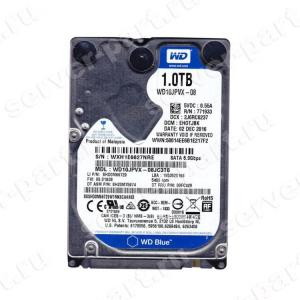 "Жесткий Диск Western Digital Blue 1Tb (U600/5400/8Mb) SATAIII 2,5""7mm(WD10JPVX)"