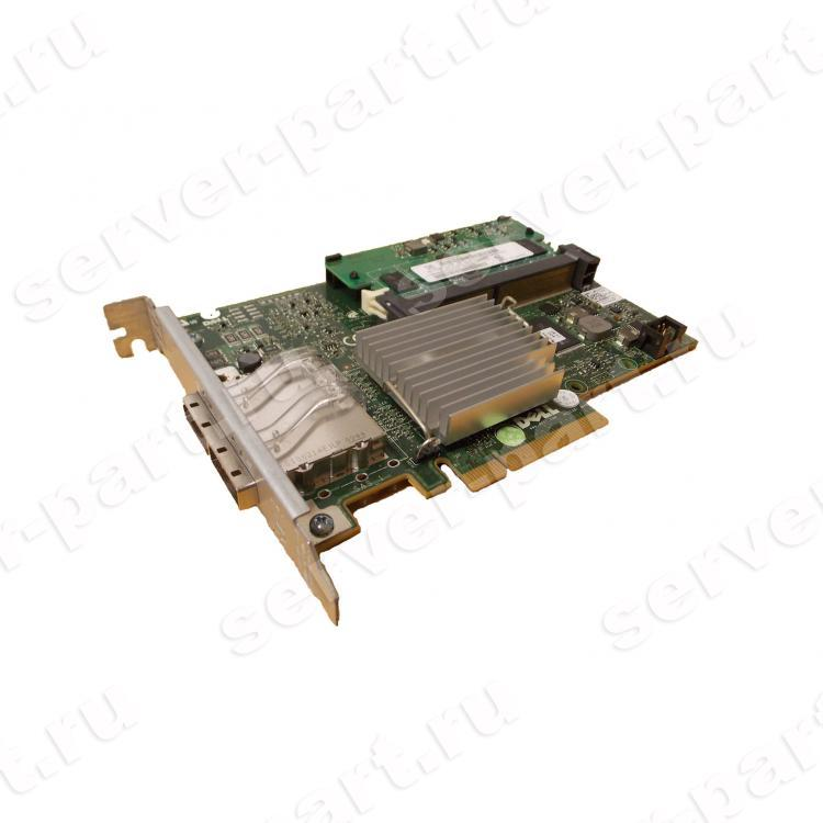 Контроллер SAS RAID Dell 512Mb BBU Ext-2хSFF8088 8xSAS/SATA RAID60 U600 6G PCI-E8x(M764M)
