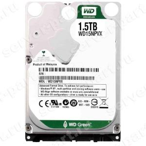 "Жесткий Диск Western Digital Green 1,5Tb (U600/IntelliPower/8Mb) 6G SATAIII 2,5"" 15mm(WD15NPVX)"