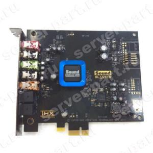 Звуковая карта HP (Creative) Recon3D Sound Core3D EAX Analog&Digital In/Out 5.1 24bit 5xJack3.5 S/PDIF PCI-E1x(B0U68AA)